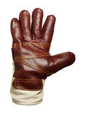 Work glove - Stop. Work glove - can be a signal for stop or greeting Royalty Free Stock Photo