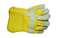 Work gloves. Isolated on white background Royalty Free Stock Photos