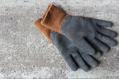 Work gloves Royalty Free Stock Photo