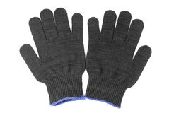 Work gloves black color Stock Photo