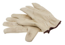 Work gloves cutouts Royalty Free Stock Photo