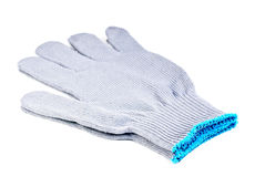 Work gloves grey color Royalty Free Stock Photography