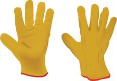 Work gloves hobby gardening Royalty Free Stock Photo