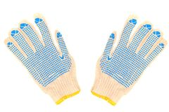 Work gloves Royalty Free Stock Photography