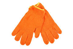 Work gloves. Stock Photo
