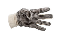 Work gloves isolated Royalty Free Stock Photography