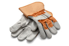 Work Gloves Red Royalty Free Stock Image
