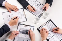 Work in group Stock Photos