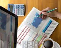 Work hard Data Analytics Statistics Information Business Technol Royalty Free Stock Photography