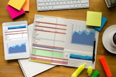 Work hard Data Analytics Statistics Information Business Technol Stock Photo