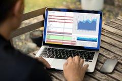 Work hard Data Analytics Statistics Information Business Technology stock photos