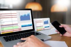 work hard Data Analytics Statistics Information Business Technol Royalty Free Stock Photo
