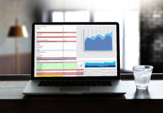 Work hard Data Analytics Statistics Information Business Technol Stock Images