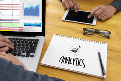 Work hard Data Analytics Statistics Information Business Technology royalty free stock photo