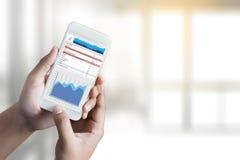 Work hard Data Analytics Statistics Information Business Technology royalty free stock photos