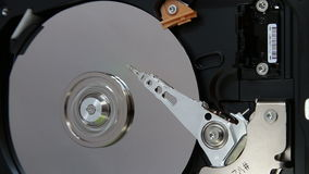 Work hard disk stock video