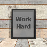 Work hard Royalty Free Stock Photography