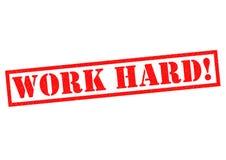 WORK HARD! Stock Image