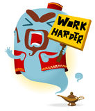 Work Harder Stock Photo