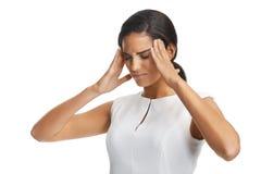 Work headache Stock Image