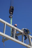 Work at heights Stock Images