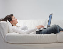 Work from home Stock Images