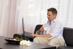 Work at home Royalty Free Stock Photo