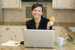Work at Home Royalty Free Stock Images