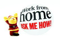 Work from home Stock Photos