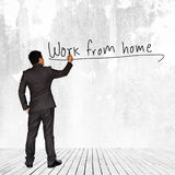 Work From Home Royalty Free Stock Photos