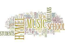 From Work At Home Guitar Teacher To Full Music School Word Cloud Concept Royalty Free Stock Photo