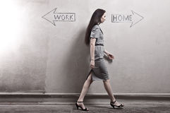 Work - Home Stock Photo