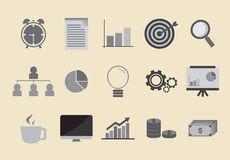 Work Icon Stock Images