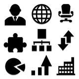 Work icons set great for any use. Vector EPS10. Stock Photography