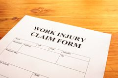Work injury Royalty Free Stock Photography