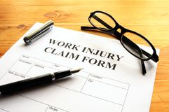Work injury Royalty Free Stock Images