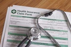 Work Injury claim form Royalty Free Stock Photos