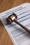 Work Injury claim form Royalty Free Stock Image