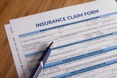 Work Injury claim form Stock Photos