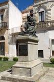Work of Italian sculptor Antonio Bortone Fanfulla. Stock Photos