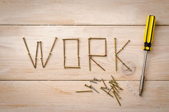 Work Stock Image