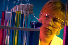 Work in the laboratory Royalty Free Stock Image