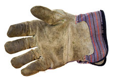 Work leather glove Royalty Free Stock Images