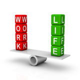 Work and Life Balance Royalty Free Stock Photos