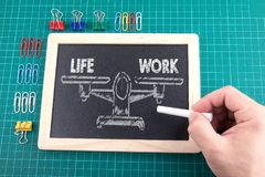 Work Life Balance, Business concept Royalty Free Stock Photography