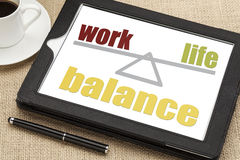 Work life balance concept Royalty Free Stock Image