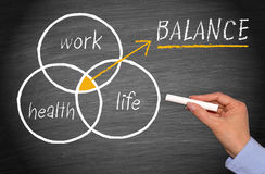 Work-Life Balance Concept. Work, Health and Life Balance Concept - Work-Life Balance stock photo