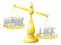 Work life balance Royalty Free Stock Photos