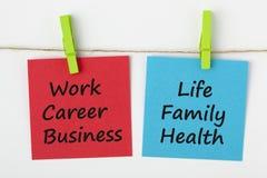 Work Life Balance Concept stock images