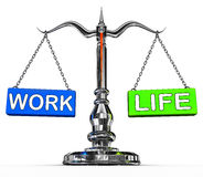 Work life balance Stock Photography